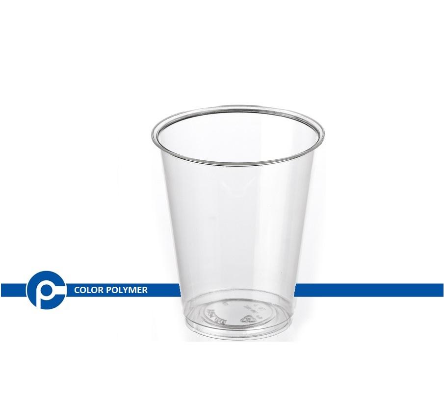 لیوان یکبار مصرف شفاف - شرکت کالر پلیمر