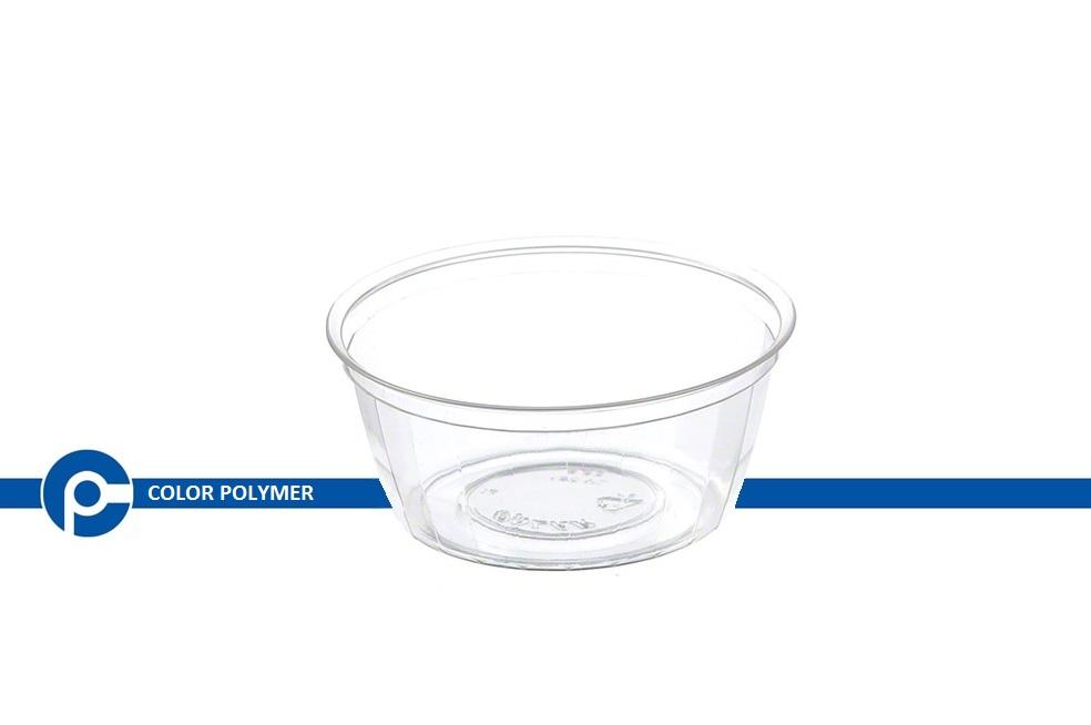 ظرف یکبار مصرف شفاف - شرکت کالر پلیمر