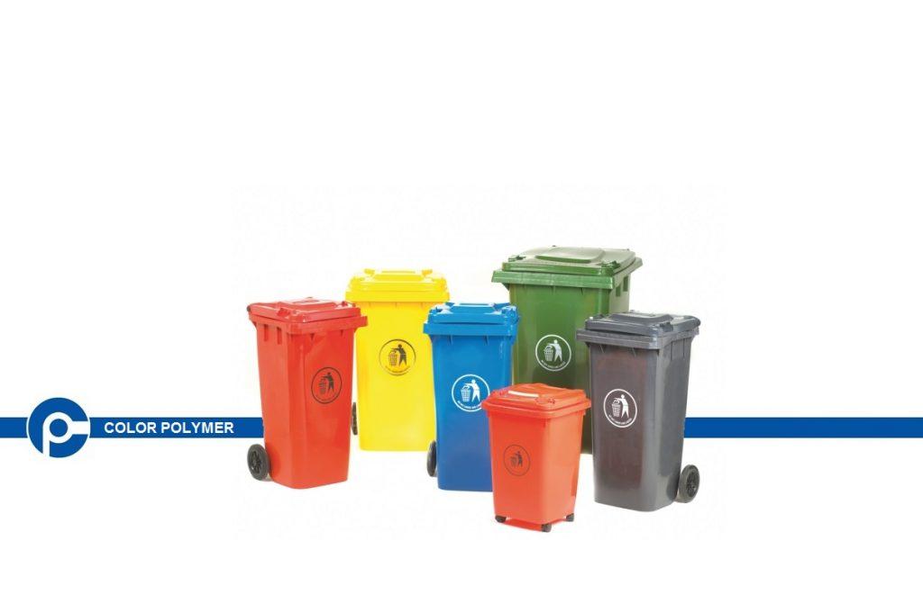 سطل زباله - شرکت کالر پلیمر